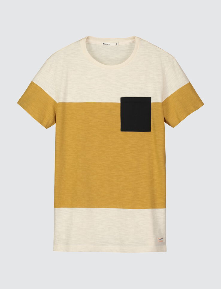T-shirt color-block grosse rayure