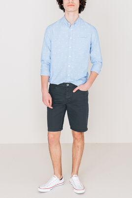 Bermuda 5 poches couleur