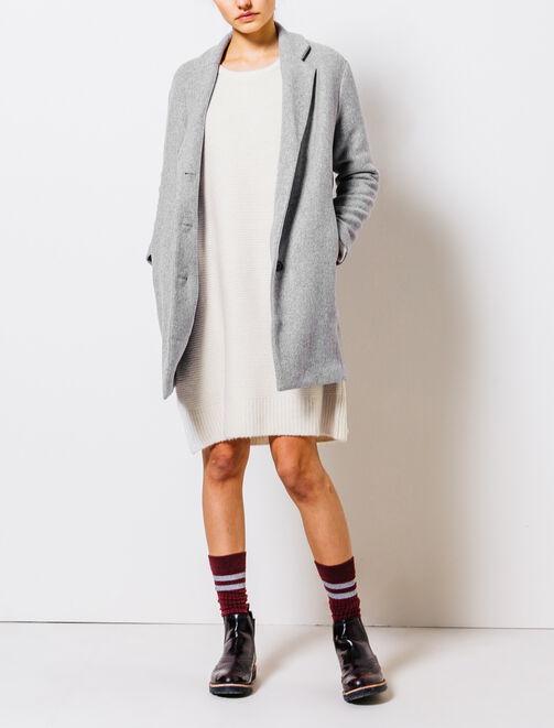 Robe pull droite femme