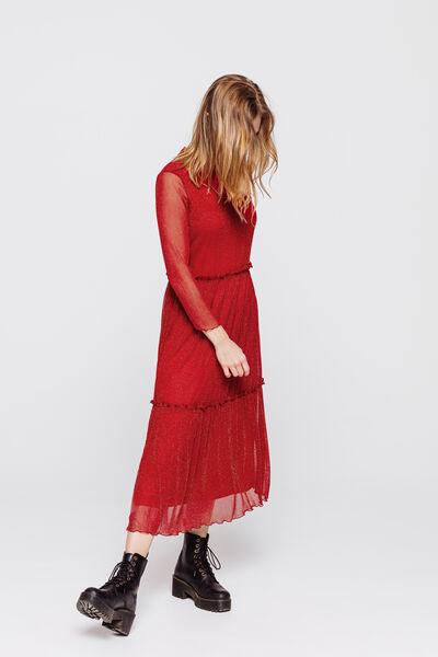 Robe maille lurex