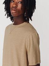 T-shirt mouliné