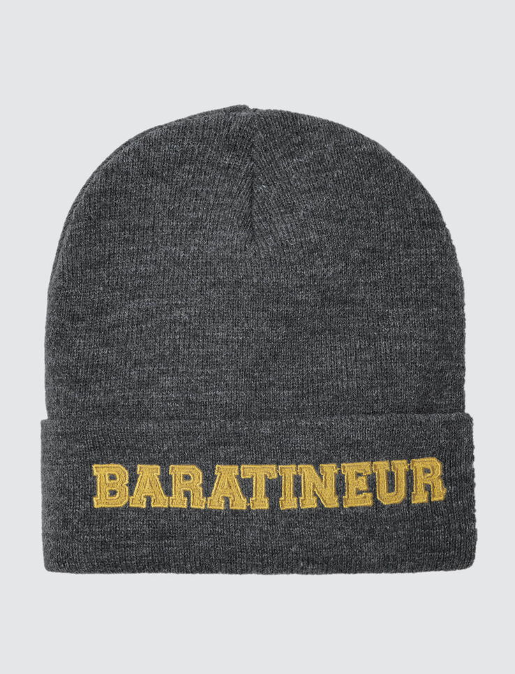 "Bonnet Message ""Baratineur"""