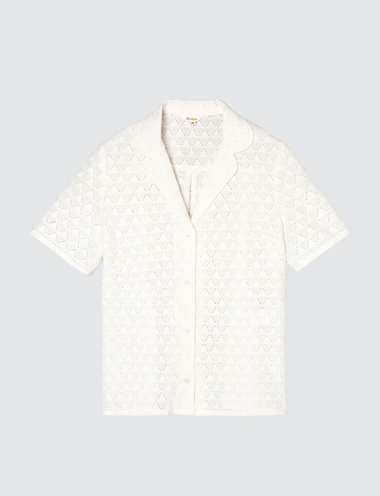 Chemisette broderie anglaise