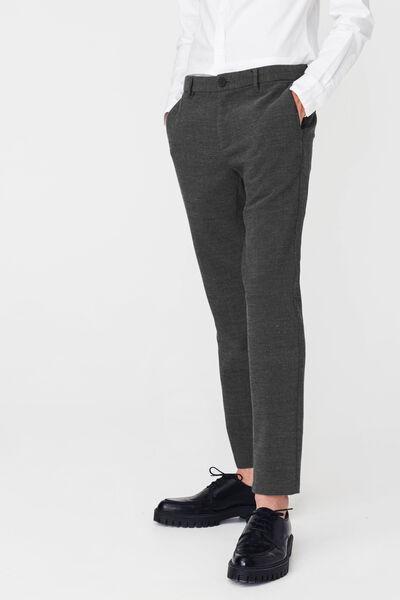 Pantalon city chiné
