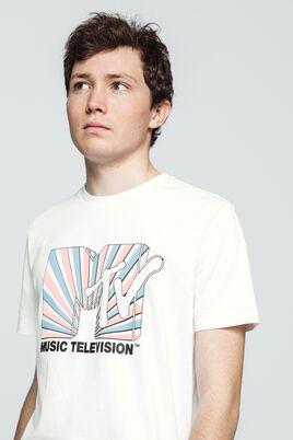 T-shirt avec print MTV devant