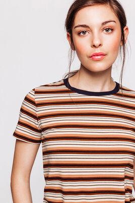 T-shirt rayé en coton IAB