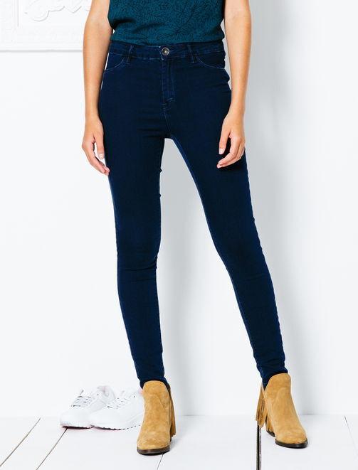 Jegging skinny taille haute femme