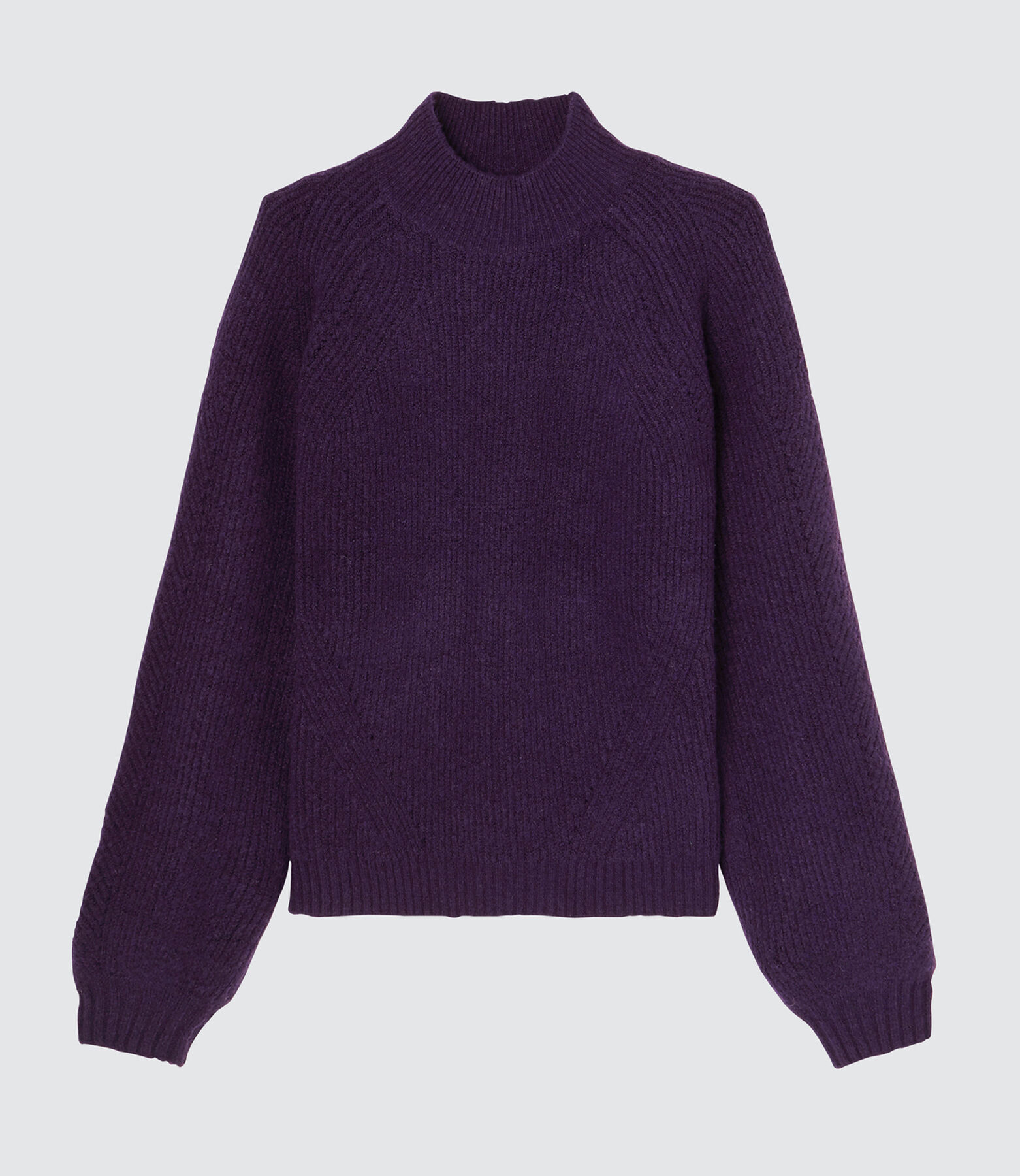 Pull col montant chaud