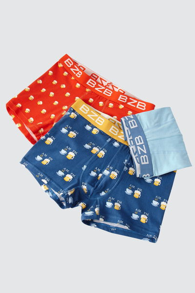 Boxers fantaisies Lot*3