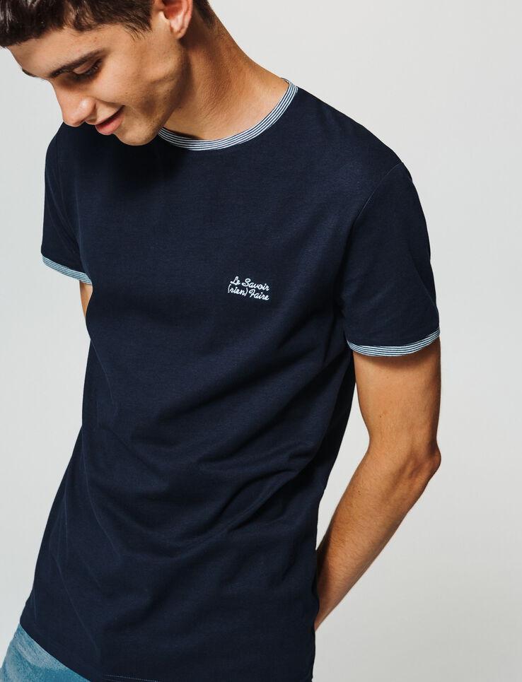 """T-shirt à message """"Le savoir (rien) faire"""""""