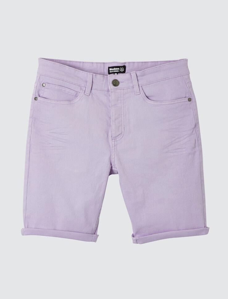 Bermuda 5 poches coloré