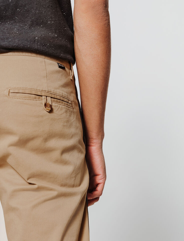 Pantalon chino à bandes