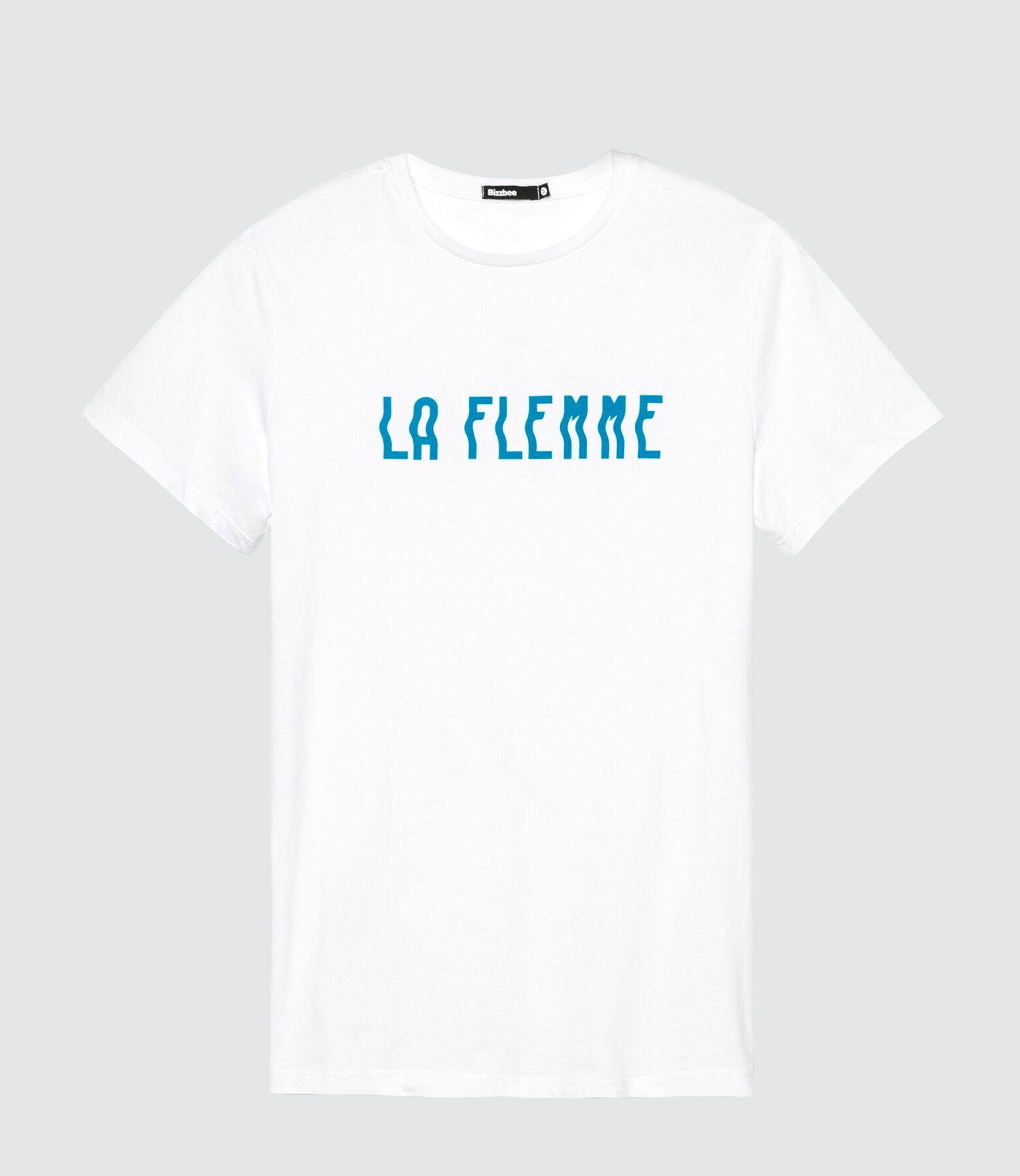 T-shirt message LA FLEMME