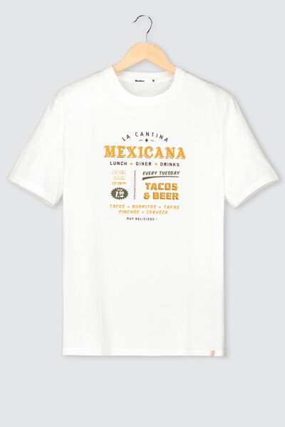 T-shirt print placé humour