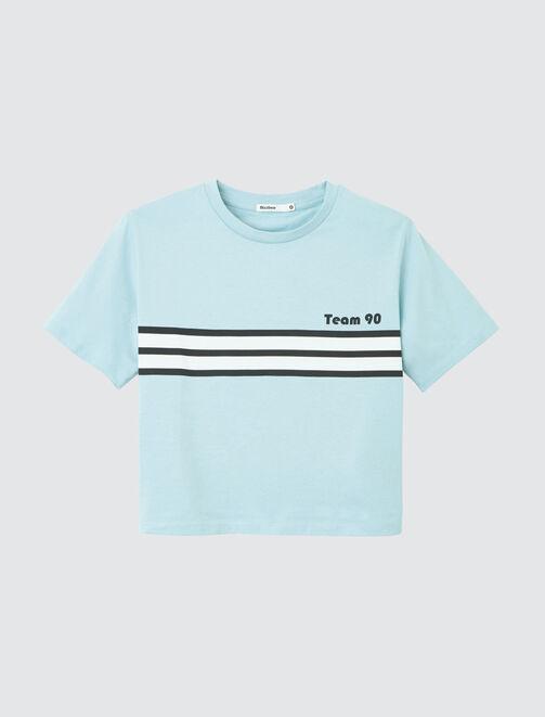 """T-shirt """"Team 90"""" femme"""