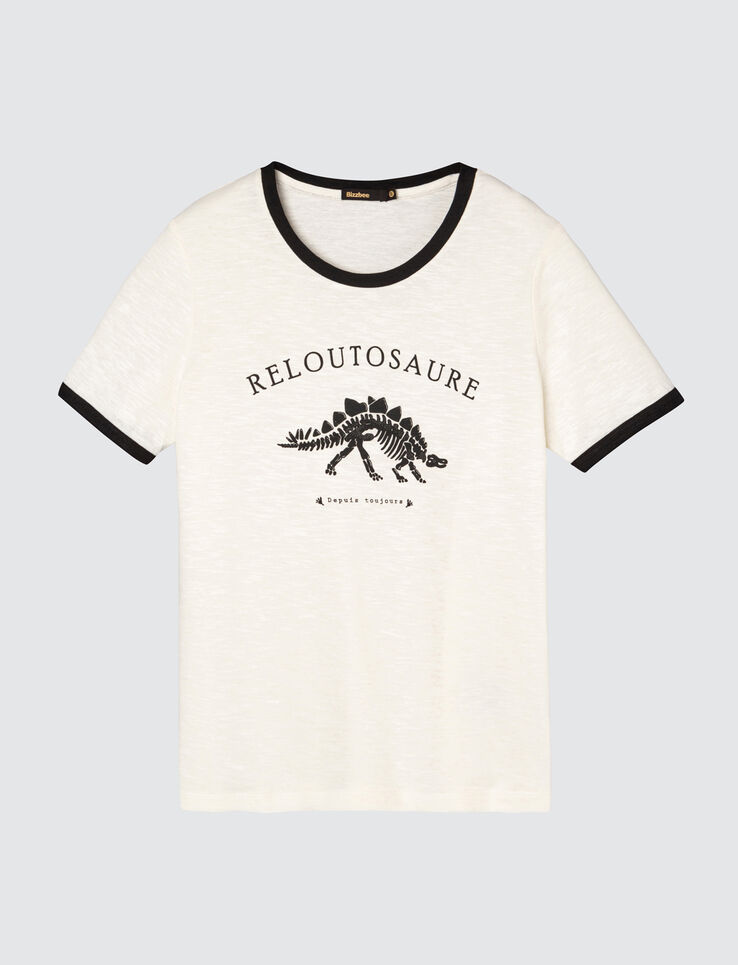 T-shirt message Reloutosaure