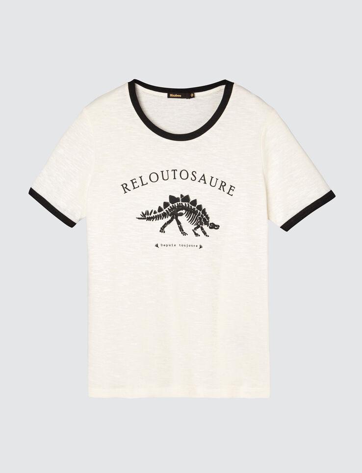 T-shirt message Reloutosaure
