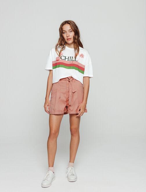 T-shirt CHILL femme