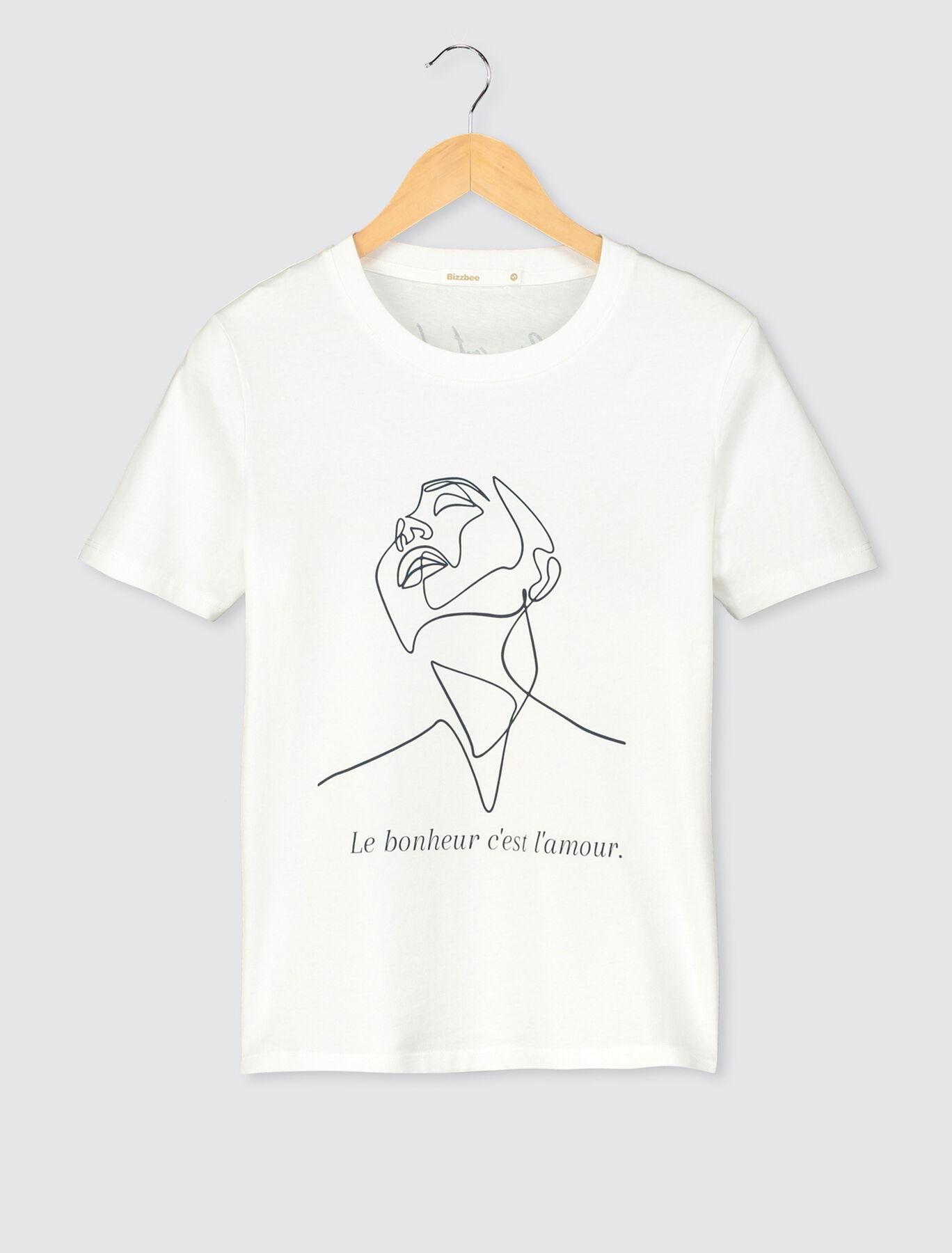 T-shirt bio Bizzbee x Ben Art Line