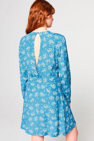 Robe courte imprimée