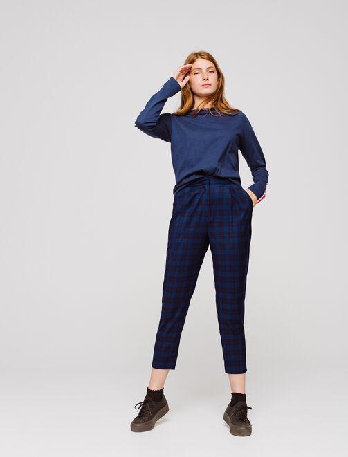 Pantalon urbain raccourci  femme