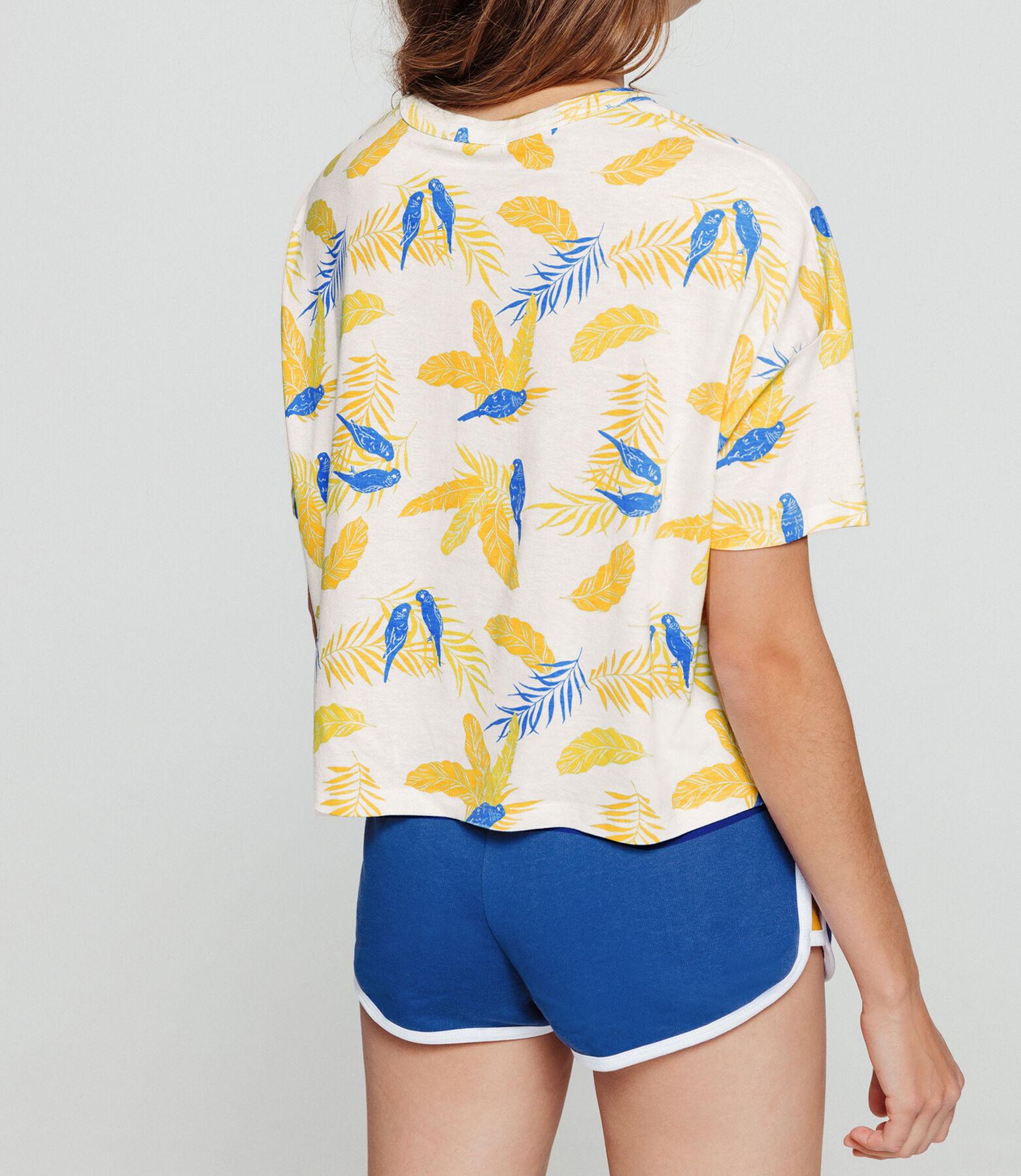 T-shirt imprimé perroquet