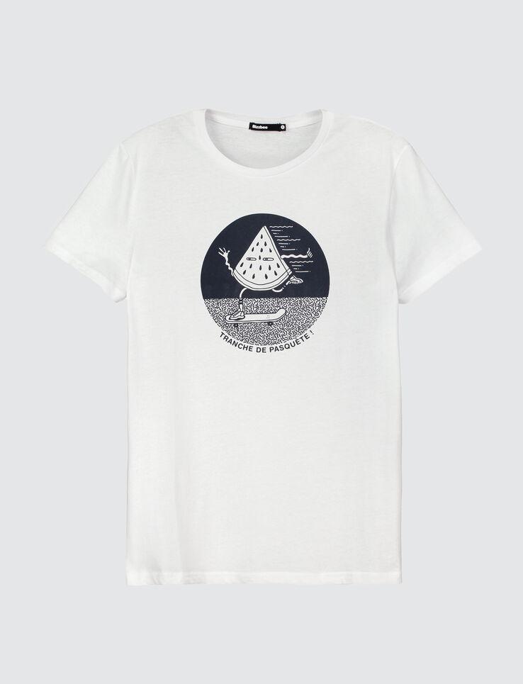 """T-shirt message """"Tranche de Pasquète"""""""