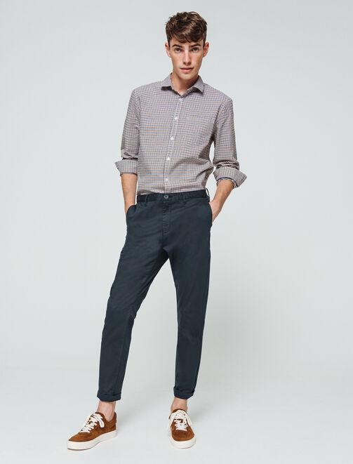 Pantalon chino raccourci homme