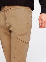 Pantalon jogger cargo