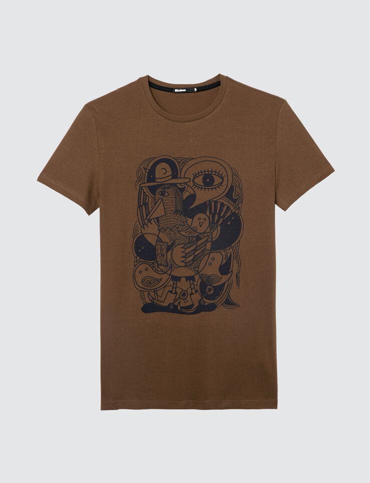 T-shirt dessin humour dinde