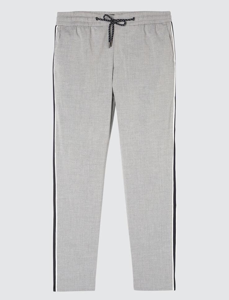 Pantalon de ville à bandes