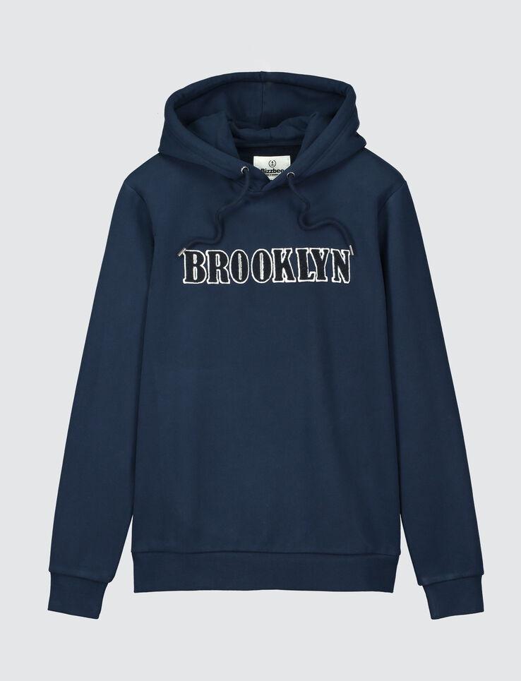"""Sweat enfilé message """"Brooklyn"""""""