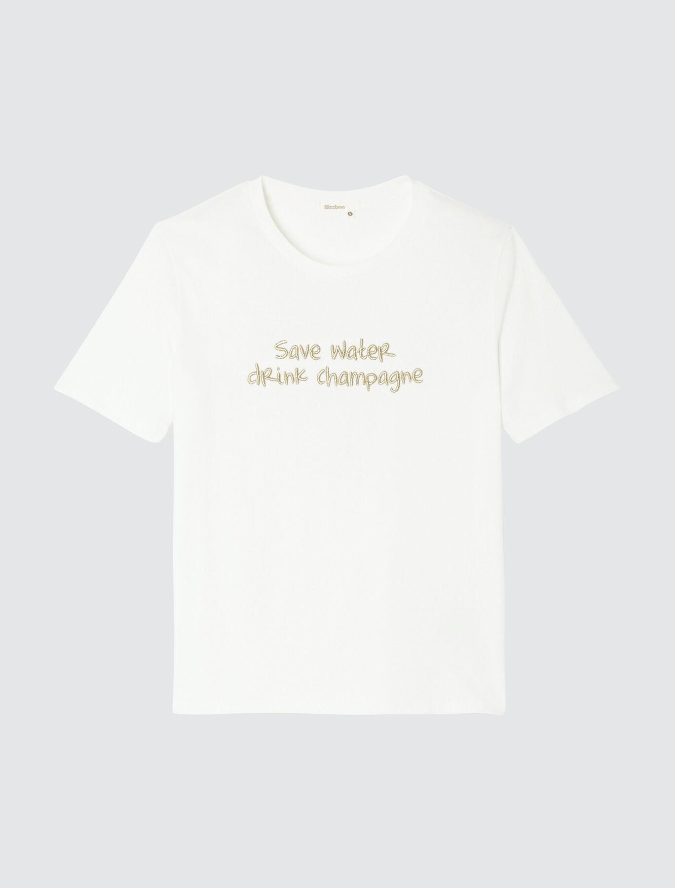 T-shirt en coton bio humour fêtes