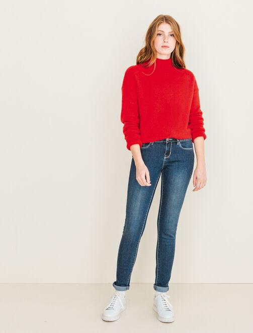 Jeans skinny taille standard femme