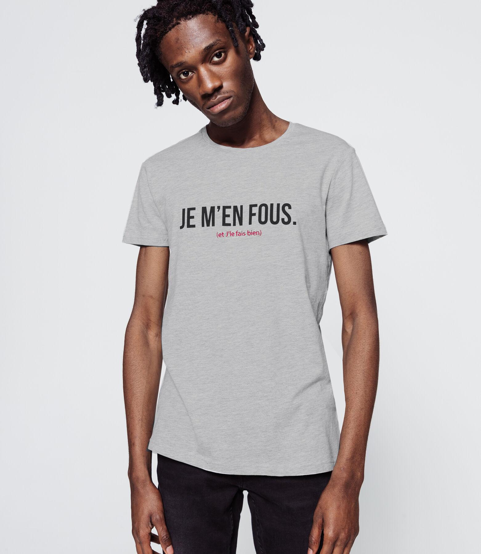 """T-shirt """"Je m'en fous"""""""
