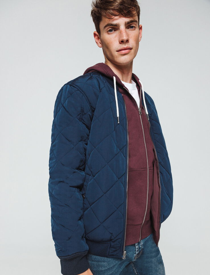 bombers reversible quilté