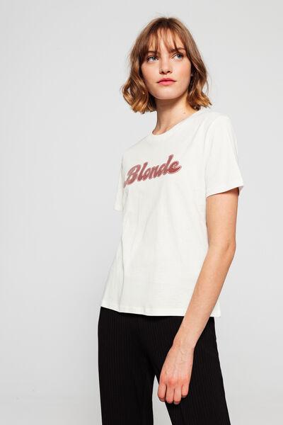 T-shirt Blonde en coton bio