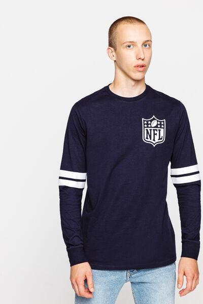 T-shirt manches longues détails manches