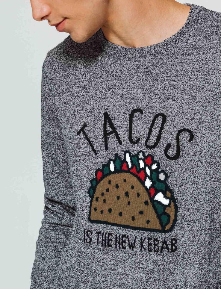 Pull en jacquard  Tacos