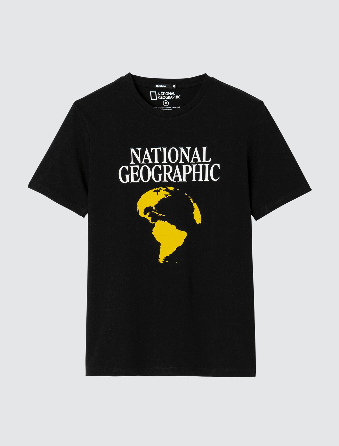"T-shirt ""National Geographic"" en coton bio"