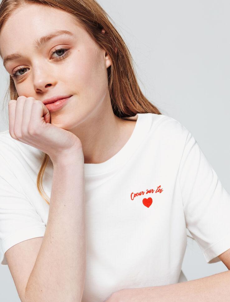 """T-shirt """"COEUR SUR TOI"""""""