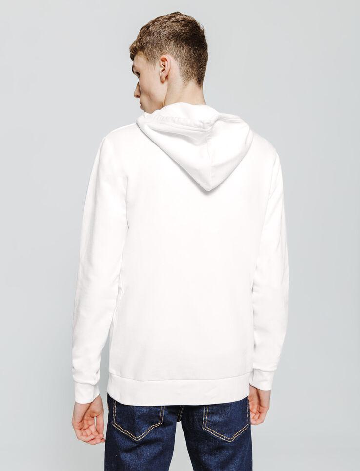 Sweatshirt enfilé capuche brodé