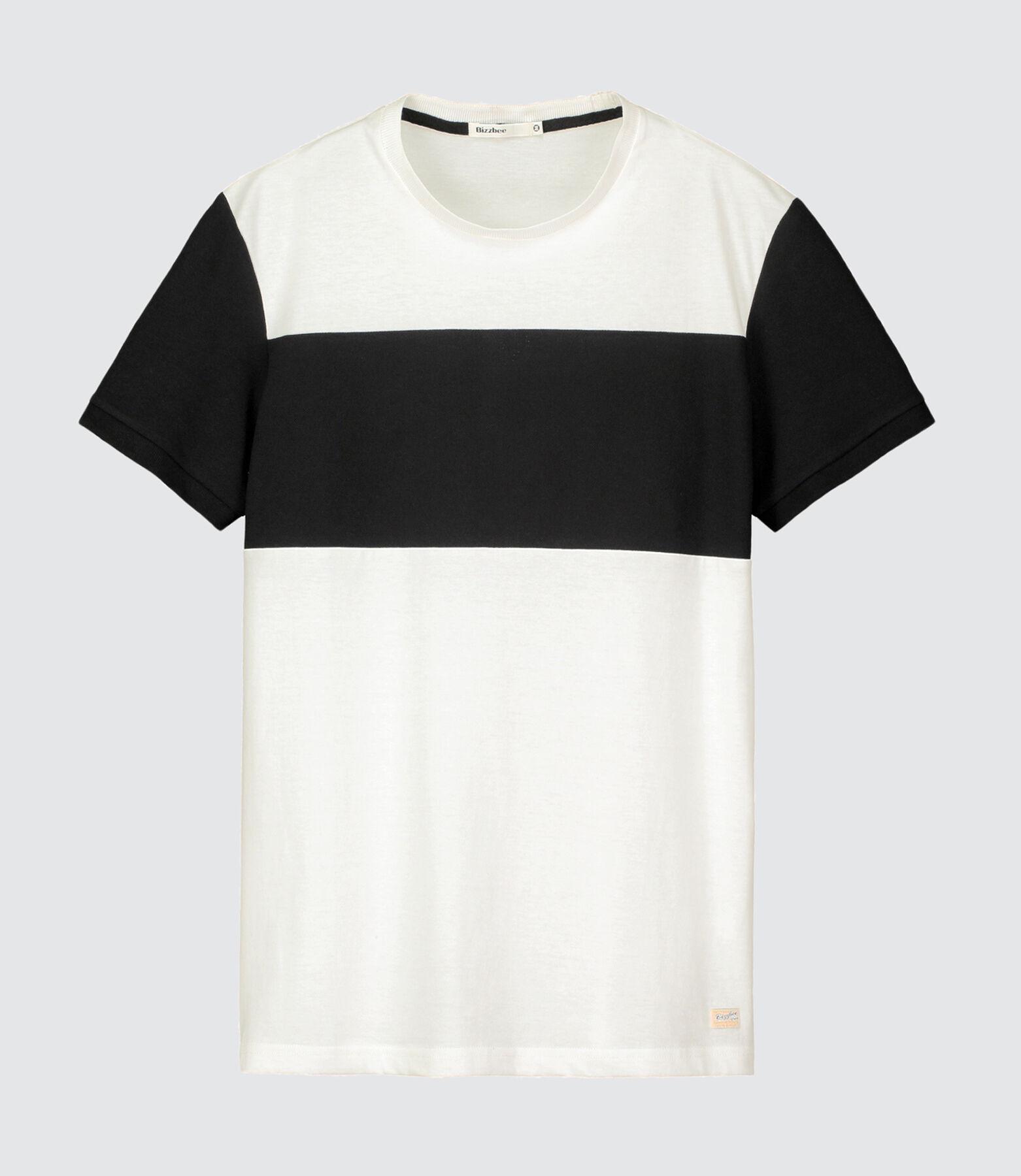 T-shirt color-block piqué