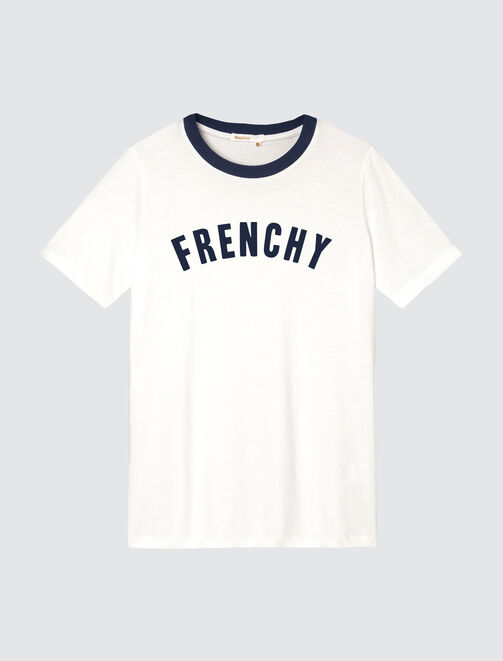 T-shirt message FRENCHY femme