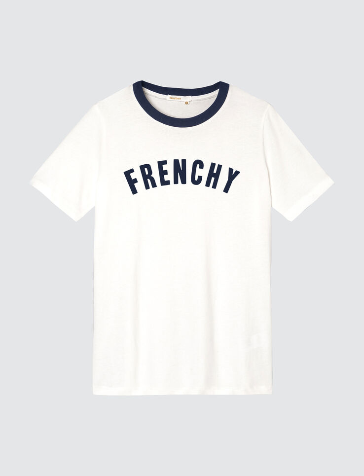 T-shirt message FRENCHY