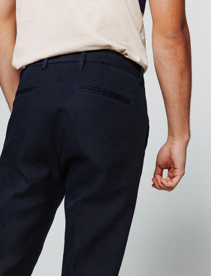 Pantalon de ville uni
