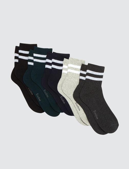 Lot de chaussettes bande sport  homme