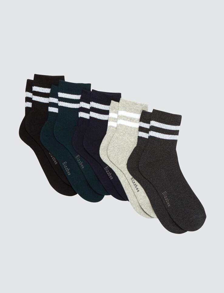 Lot de chaussettes bande sport