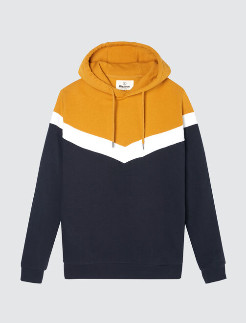 Sweat enfilé color-block homme