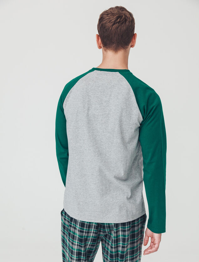 Pyjama manches longues Serpentard